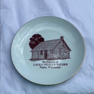 Laura Ingalls Wilder Birthplace Decorative Plate